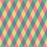 bezszwowy tła rhombus kolorowy deseniowy Zdjęcie Stock