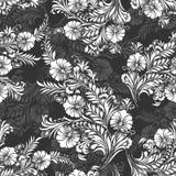Bezszwowy tło dla tekstylnych tkanin i płócien Obrazy Stock