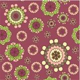 bezszwowy tło kwiat Obraz Royalty Free