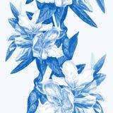 Bezszwowy tło kwiat azalie fotografia stock