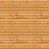 Bezszwowy drewniany tło Zdjęcia Royalty Free