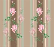 Bezszwowy tło od kwiatu ornamentu, modny nowożytny Zdjęcie Stock