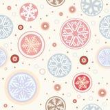 bezszwowy tło płatek śniegu ilustracja wektor
