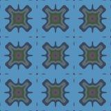 Bezszwowy tło wzór z różnorodność stubarwnymi liniami royalty ilustracja