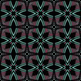 Bezszwowy tło wzór z różnorodność stubarwnymi liniami ilustracji