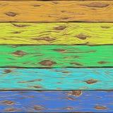 bezszwowy tła drewna Obrazy Stock