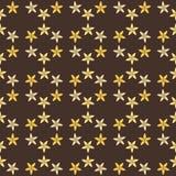 Bezszwowy tło kwitnie w wanilii wanilia Waniliowy abstrakt Obraz Stock