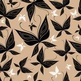 bezszwowy tło motyl Zdjęcie Stock
