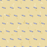 Bezszwowy tło wzór cukierki Fotografia Stock