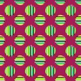 Bezszwowy tło z abstrakcjonistycznym geometrycznym wzorem Abstrakcjonistyczna cyfrowa usterki grafika Obraz Royalty Free