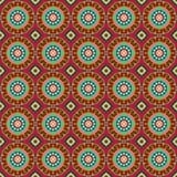 Bezszwowy tło z geometrycznym ornamentem Zdjęcie Royalty Free