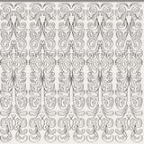 Bezszwowy tło z vertical konturu wzorami royalty ilustracja