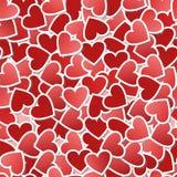 bezszwowy tła valentine Obrazy Stock