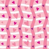 bezszwowy tła valentine Zdjęcia Royalty Free