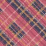 Bezszwowy tartanu wektoru wzór pasiasty szkocka krata wzór Zdjęcia Stock