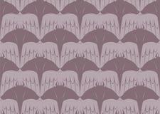 Bezszwowy Tessellation wzór manty Ray i Ptasi wektor Fotografia Royalty Free