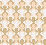 Bezszwowy Tessellation wzór Stylizowani mężczyzna niesie each inny na ich ramionach Zdjęcia Stock
