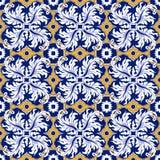 Bezszwowy tło wizerunek rocznika piórka spirali kalejdoskopu round wzór Fotografia Royalty Free