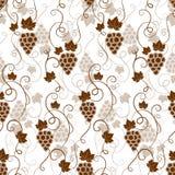 Bezszwowy tło wzór winogrona Zdjęcie Stock