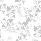 Bezszwowy trójboka wzór Obrazy Stock
