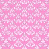 Bezszwowy tupocze różową tło wektoru ilustrację Ilustracji