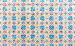 Bezszwowy tupocze robić tradycyjne azulejos płytki Obrazy Stock