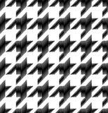 Bezszwowy w kratkę klasyczny tkaniny tło Fotografia Stock