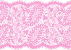 Bezszwowy wektor menchii koronki wzór Zdjęcie Royalty Free
