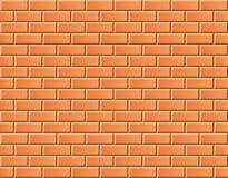 Bezszwowy wektorowy ściana z cegieł - tło wzór Zdjęcie Royalty Free