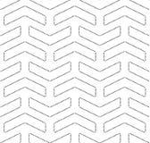 Bezszwowy wektorowy abstrakta wzór Obrazy Stock