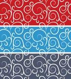 Bezszwowy wektorowy abstrakta wzór. Kolorowa tekstura Obrazy Royalty Free