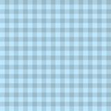 Bezszwowy wektorowy błękitny szkocki tło Obraz Royalty Free