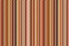 Bezszwowy wektorowy geometryczny wzór z Zygzakowatymi lampasami pastel paskuje tło royalty ilustracja