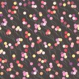Bezszwowy wektorowy tło z kolorowymi balonami Zdjęcie Stock