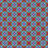 Bezszwowy Wektorowy Talavera wzór, tło i ilustracji
