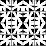 Bezszwowy wektoru wzór z ołówka stylem w czarny i biały kwadratowych płytkach ilustracji