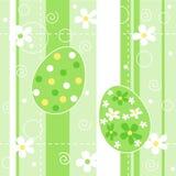 bezszwowy Wielkanoc tła wzoru Fotografia Royalty Free