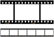 Bezszwowy Wielostrzałowy Filmstrip Obrazy Royalty Free