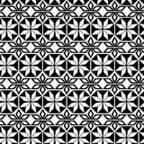 Bezszwowy wielostrzałowy geometrical wzór na Arabskim temacie Obrazy Stock