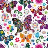 Bezszwowy wiosna wzór Obrazy Royalty Free