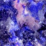 Bezszwowy wszechświatu wzór royalty ilustracja