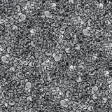 Bezszwowy wzór, abstrakcjonistyczna akwareli tekstura Elementy na czarnym tle ilustracji