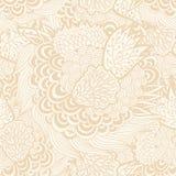 Bezszwowy wzór, abstrakcjonistyczny kwiecisty tło w pastelu co Zdjęcia Stock