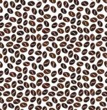 Bezszwowy wzór adra kawa na białym tle Zdjęcia Stock