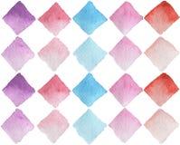 Bezszwowy wzór, akwarela, handmade/ Obraz Stock