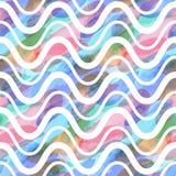 Bezszwowy wzór akwareli ręki obrazu plamy Wektorowa ilustracja tworząca z obyczajowymi muśnięciami, nie kalkowanie ilustracji