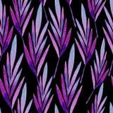 Bezszwowy wzór barwioni liście Fotografia Stock