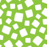 Bezszwowy wzór biali serce kształty Zdjęcie Stock