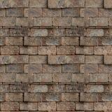 Bezszwowy wzór czerwony ściana z cegieł Zdjęcie Royalty Free