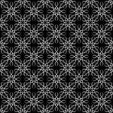 Bezszwowy wzór faliste linie geometryczny tło royalty ilustracja
